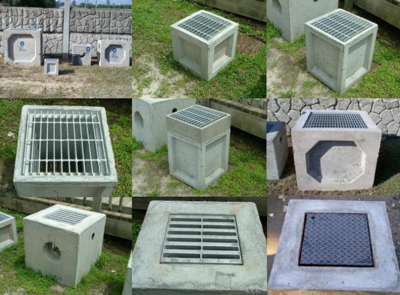 Grate Catch Basins